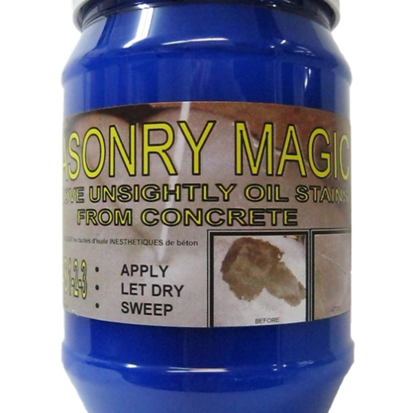 Masonry magic stain oil remover 850ml cleaner for Concrete cleaner oil remover